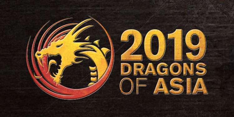 Dragons of Asia 2019 logo